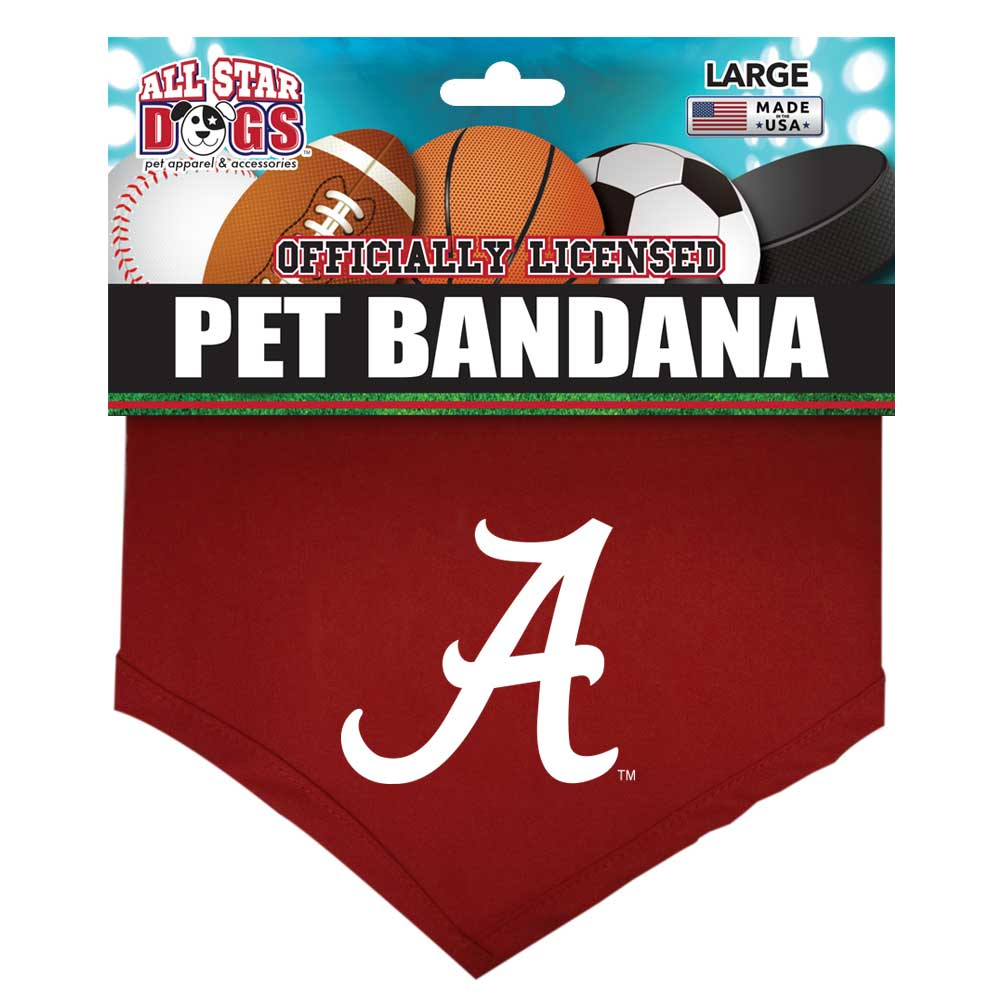 Alabama Crimson Tide Dog Bandana
