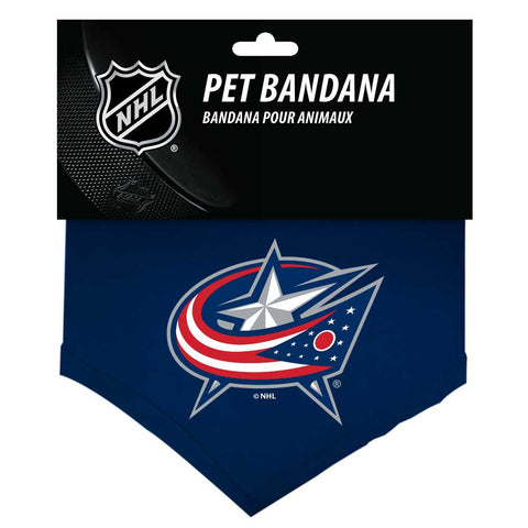 Columbus Blue Jackets Dog Bandana