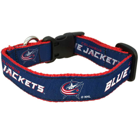 Columbus Blue Jackets Premium Dog Collar