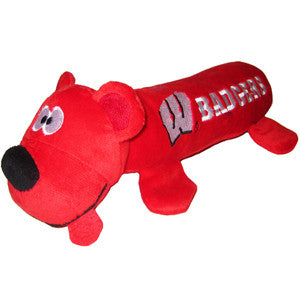 Wisconsin Badgers Plush Tube Toy