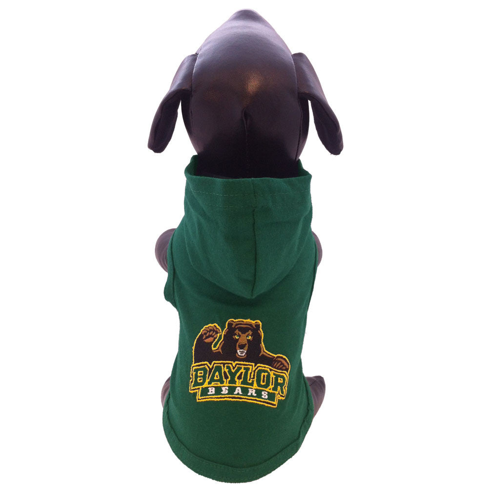 Baylor University Bears Dog Cotton Hoody