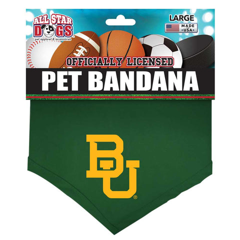 Baylor University Bears Dog Bandana