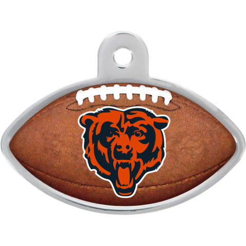 Chicago Bears Football Dog ID Tag