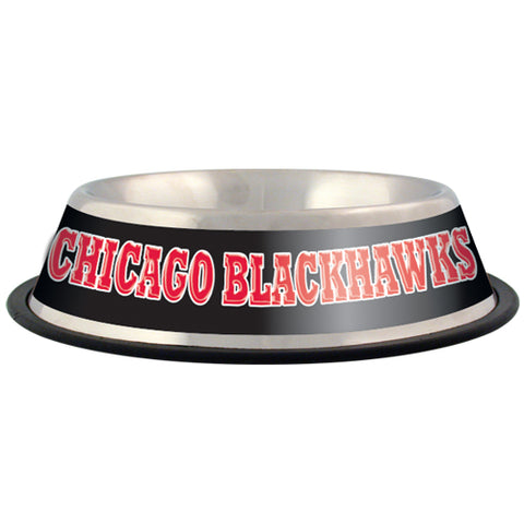 Chicago Blackhawks Dog Bowl