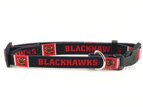 Chicago Blackhawks Dog Collar 2 (Discontinued)