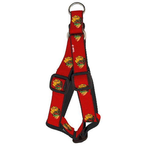 Chicago Blackhawks Premium Dog Harness