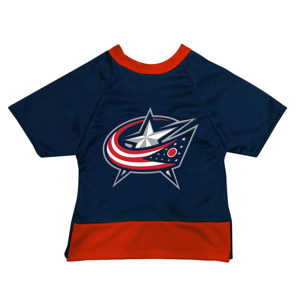 Columbus Blue Jackets Dog Jersey
