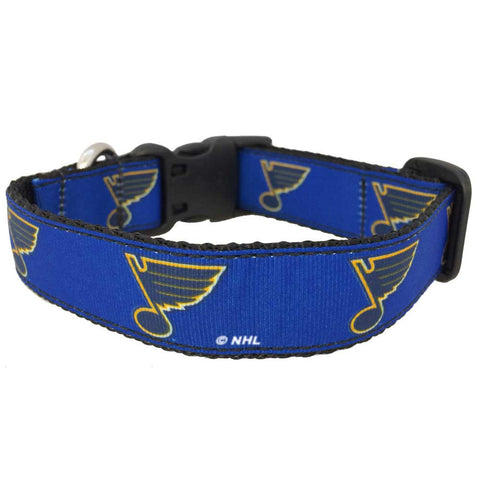 St. Louis Blues Premium Dog Collar
