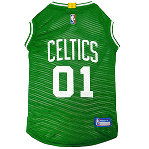 Boston Celtics Mesh Dog Jersey