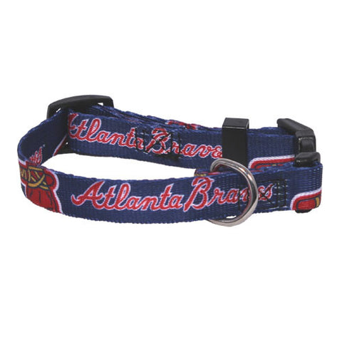 Atlanta Braves Dog Collar (Discontinued)