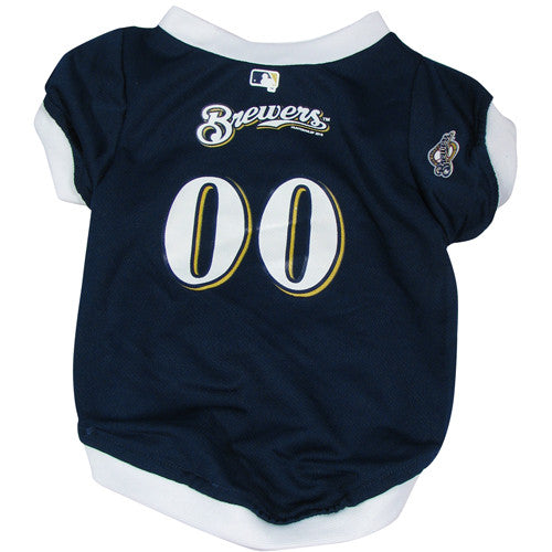 Milwaukee Brewers Dog Jersey (Discontinued)