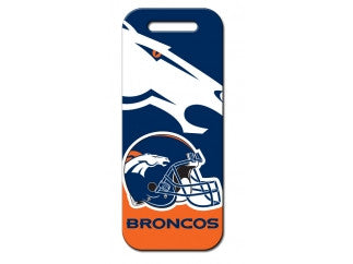 Denver Broncos Luggage Tag