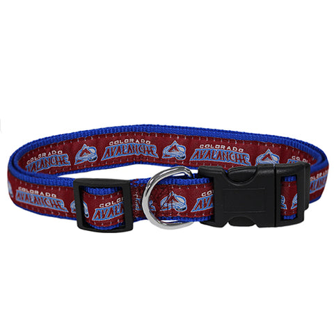 Colorado Avalanche Dog Collar