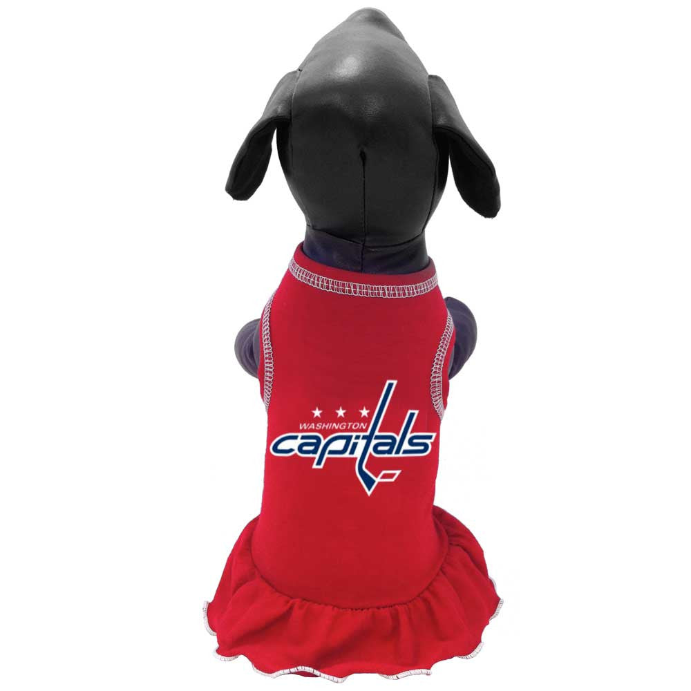 Washington Capitals Ice Girl Dog Dress