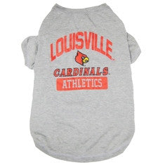 Louisville Cardinals Dog T-Shirt
