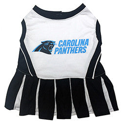 Carolina Panthers Dog Cheerleader Uniform