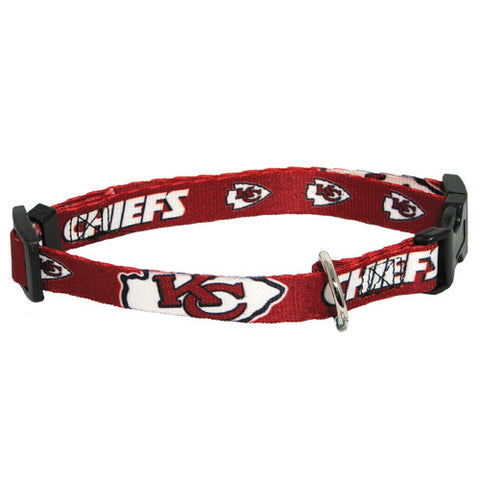 Kansas City Chiefs Dog Collar (Discontinued)