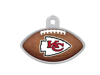 Kansas City Chiefs Football Dog ID Tag