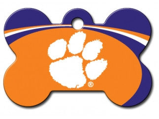 Clemson Tigers Dog ID Tag