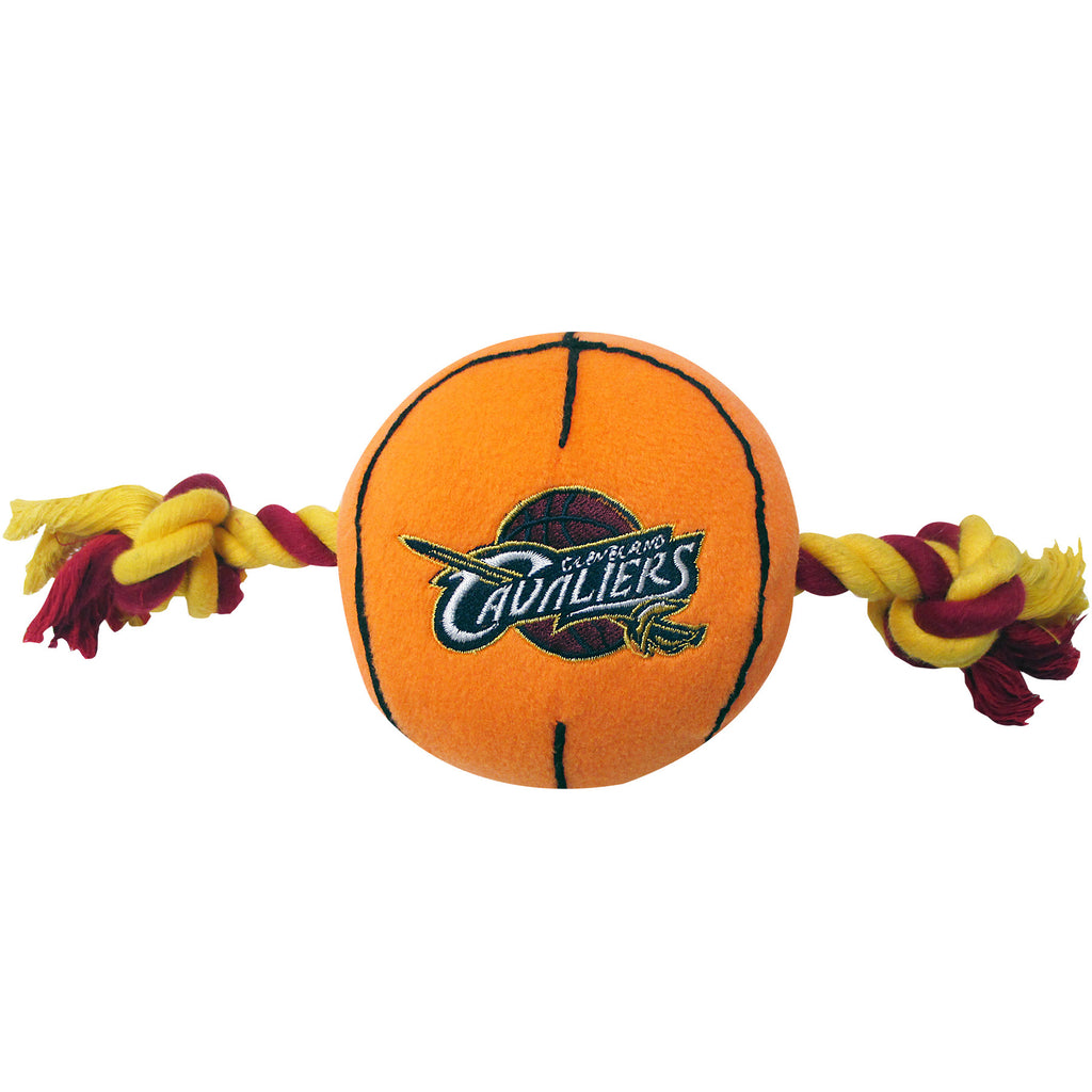 Cleveland Cavaliers Basketball Plush and Rope Toy