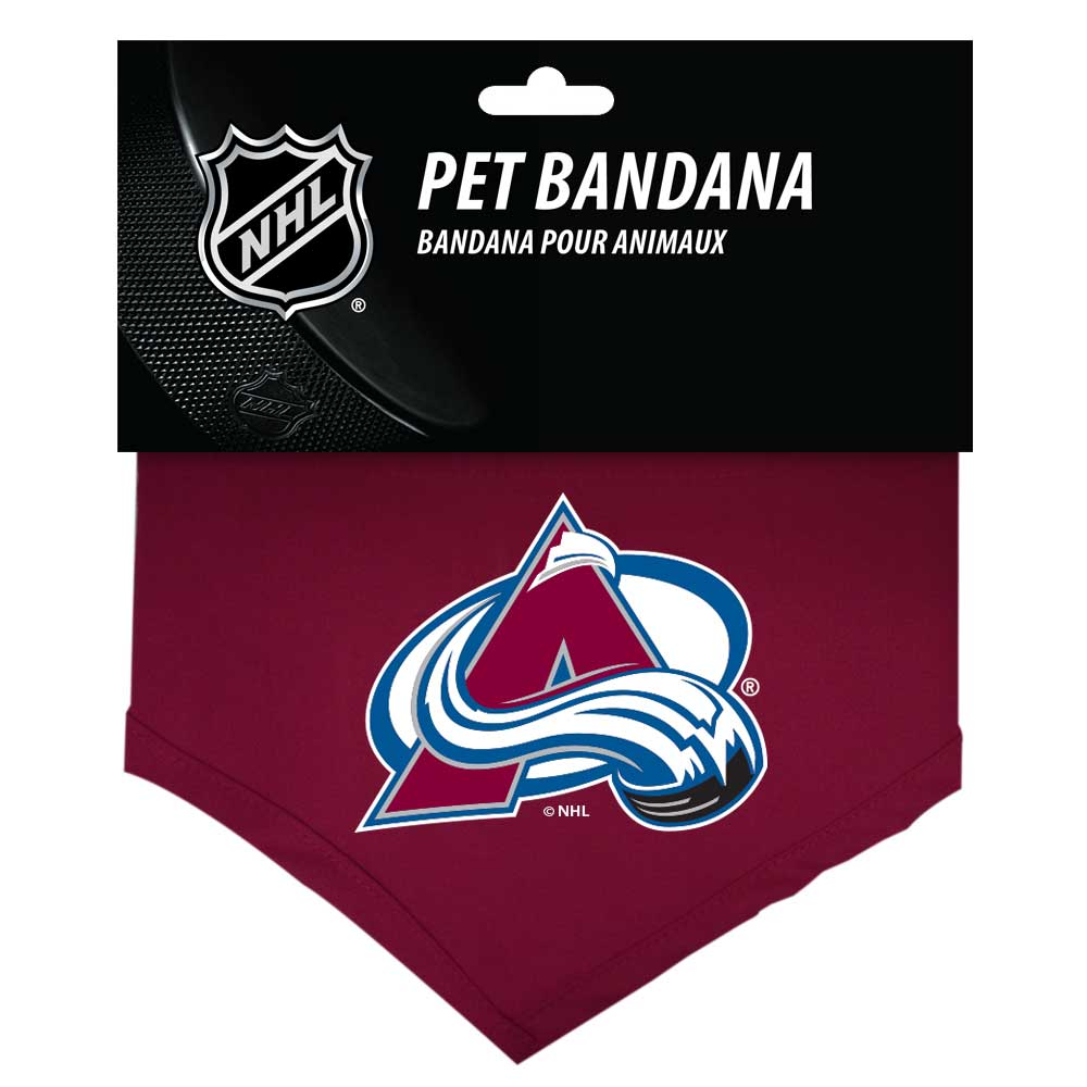 Colorado Avalanche Dog Bandana