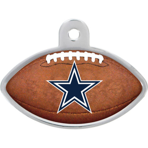 Dallas Cowboys Football Dog ID Tag