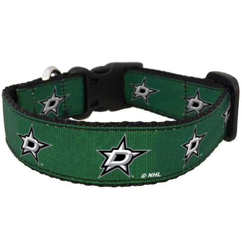 Dallas Stars Premium Dog Collar