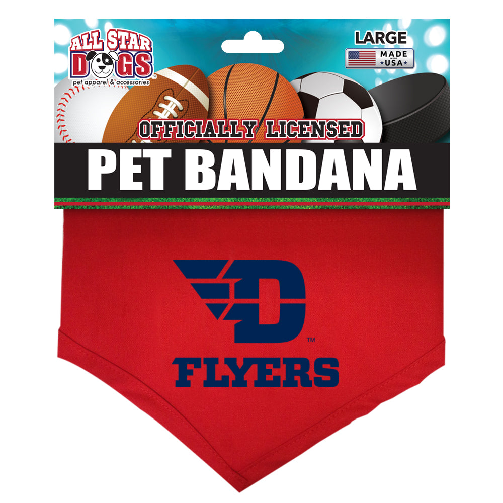 Dayton Flyers Dog Bandana