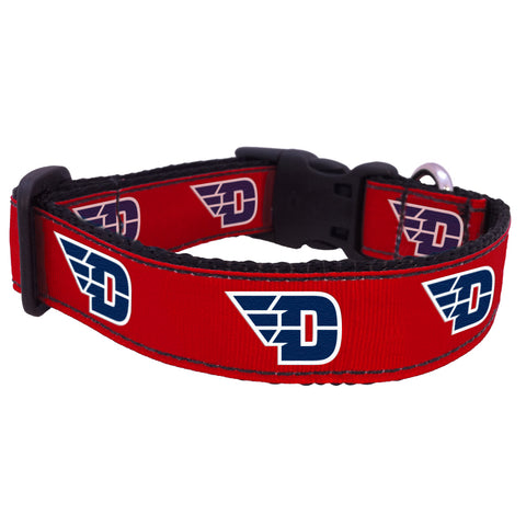 Dayton Flyers Premium Dog Collar