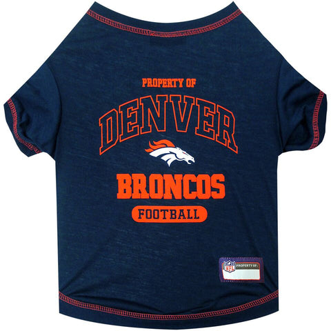 Denver Broncos Dog T-Shirt
