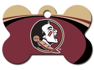 Florida State Seminoles Dog ID Tag