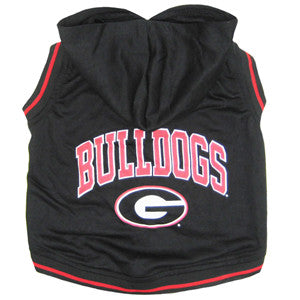 Georgia Bulldogs Dog Hoody T-Shirt