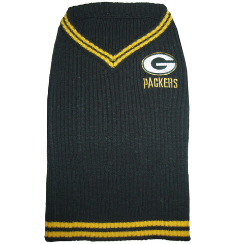 Green Bay Packers Dog Sweater
