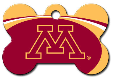Minnesota Golden Gophers Dog ID Tag