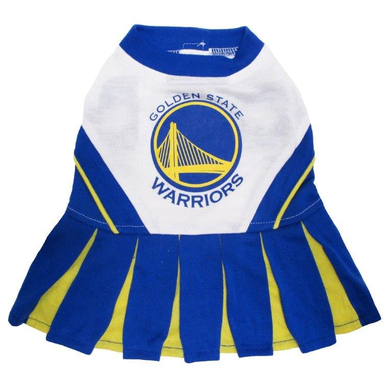 Golden State Warriors Dog Cheerleader Uniform
