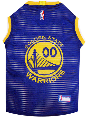 Golden State Warriors Dog Tank Jersey