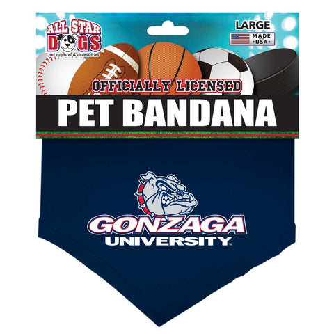 Gonzaga Bulldogs Dog Bandana