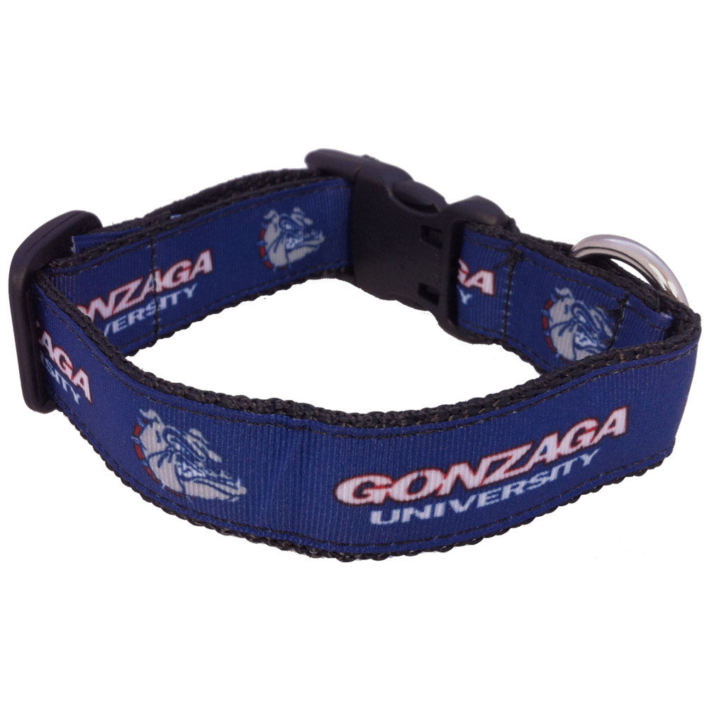 Gonzaga Bulldogs Premium Dog Collar