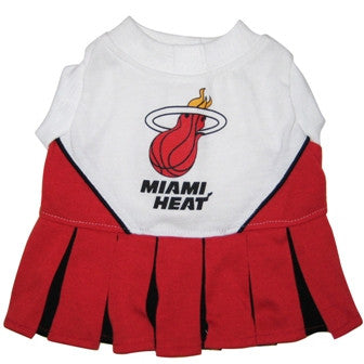Miami Heat Dog Cheerleader Uniform