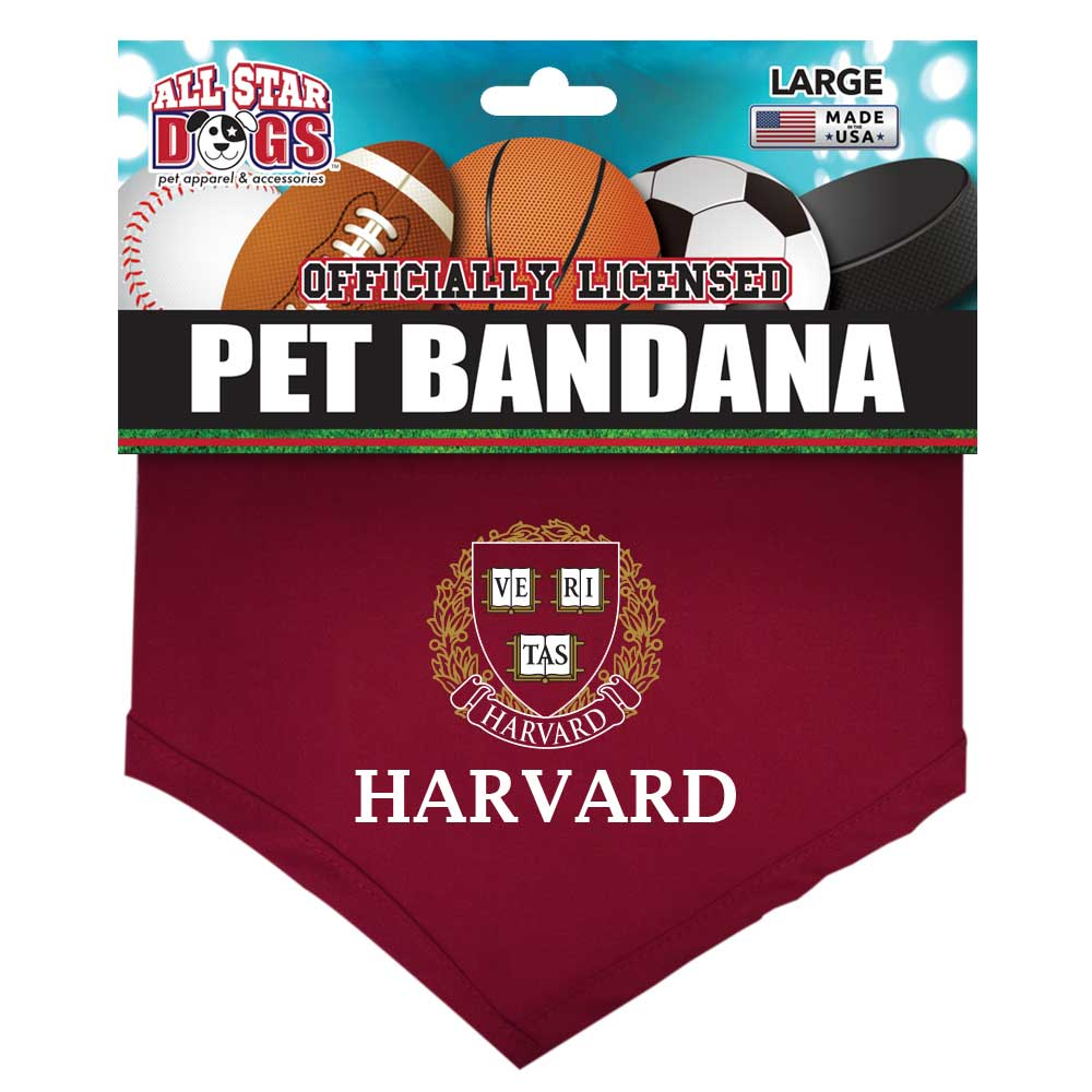 Harvard Crimson Dog Bandana
