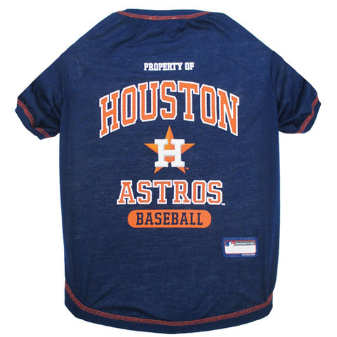 Houston Astros Dog T-Shirt