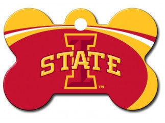 Iowa State Cyclones Dog ID Tag