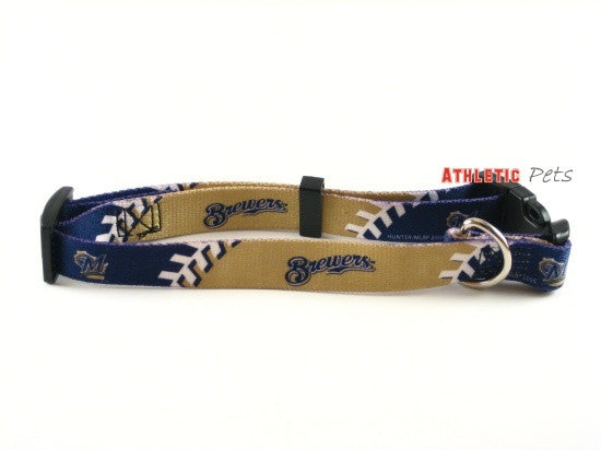 Milwaukee Brewers Dog Collar 2 (Discontinued)