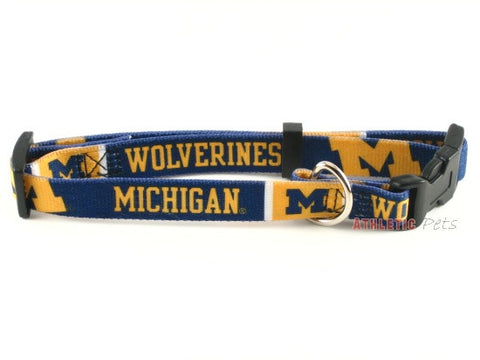 Michigan Wolverines Dog Collar (Discontinued)