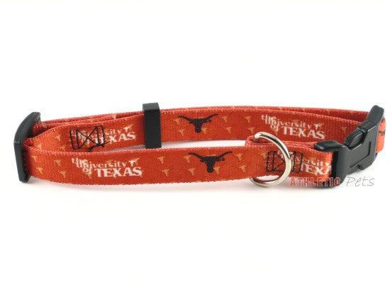 Texas Longhorns Dog Collar (Discontinued)