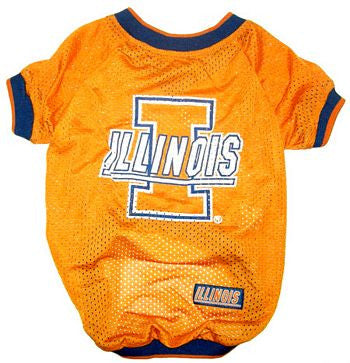 Illinois Fighting Illini Dog Jersey (Discontinued)