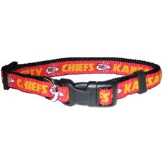 Kansas City Chiefs Dog Collar