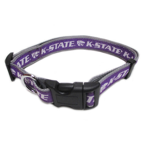 Kansas State Wildcats Dog Collar