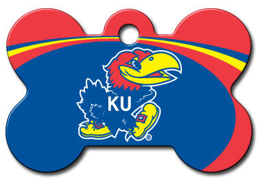 Kansas Jayhawks Dog ID Tag