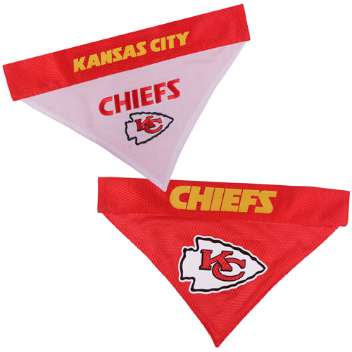Kansas City Chiefs Reversible Dog Bandana